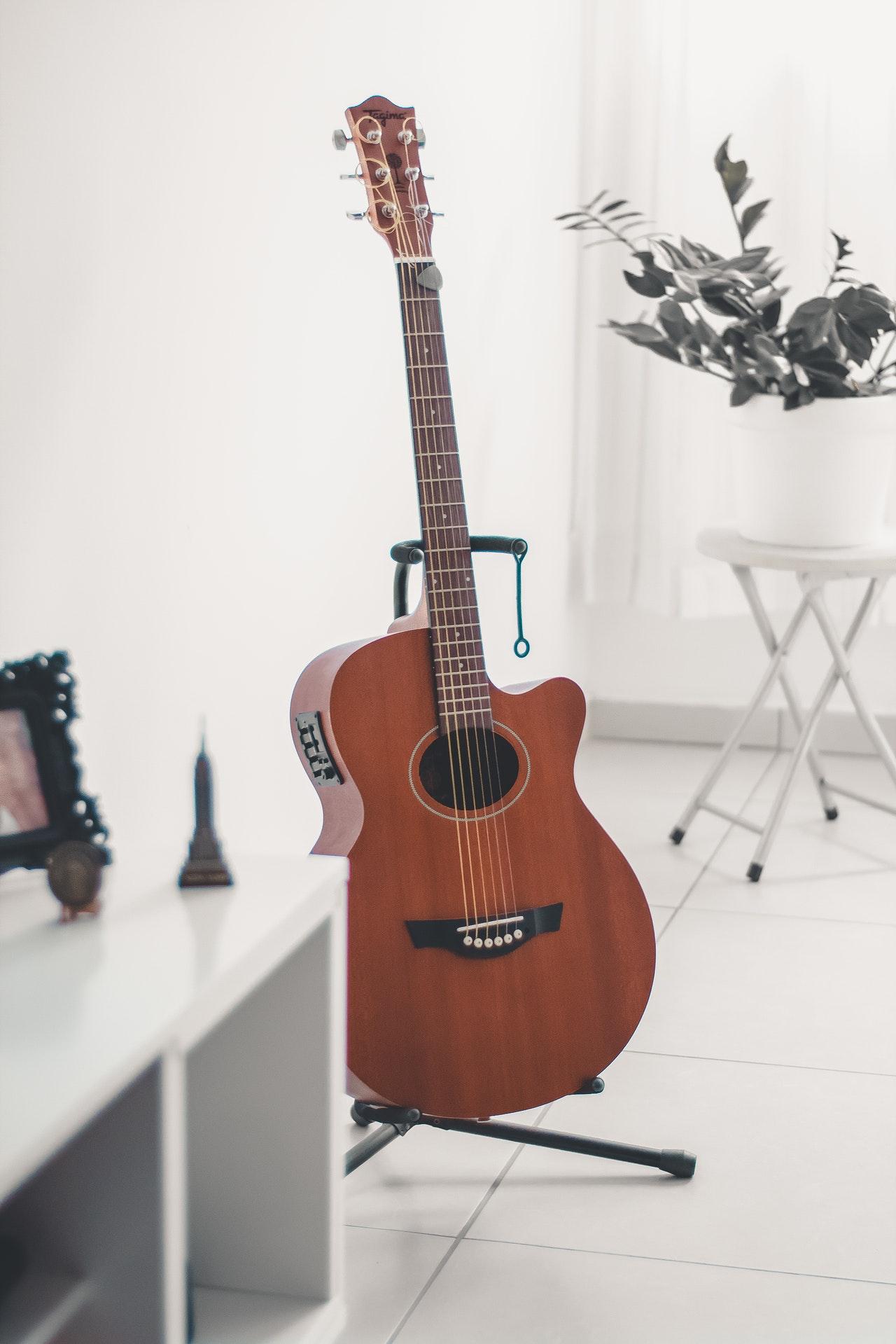 gitaar spreekbeurt