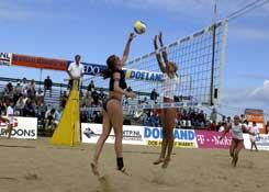 Sporten op het strand